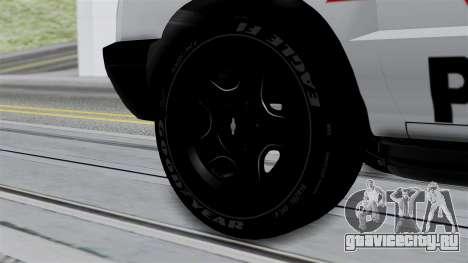 Chevrolet Blazer 2010 для GTA San Andreas вид сзади слева