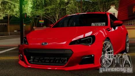Subaru BRZ 2010 для GTA San Andreas