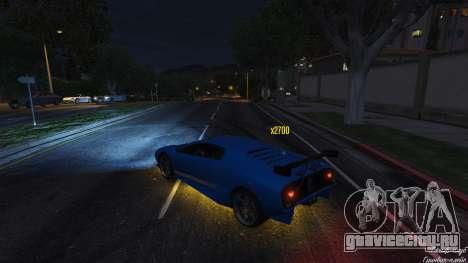 Drift HUD для GTA 5 третий скриншот