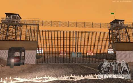 Новая военная база В1.0 для GTA San Andreas пятый скриншот