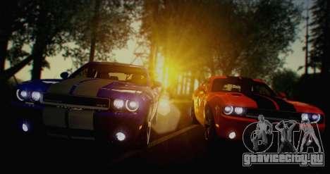 ENB White_SA v1.0 для GTA San Andreas второй скриншот