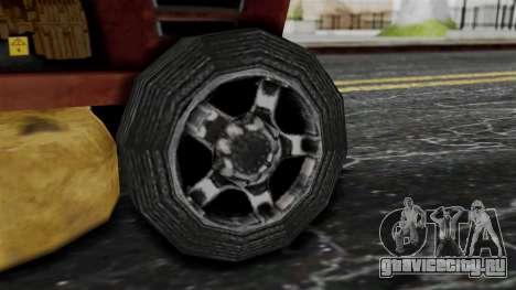 Mower from Bully для GTA San Andreas вид сзади слева