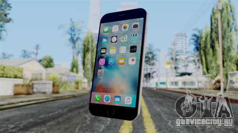 iPhone 6S Space Grey для GTA San Andreas второй скриншот