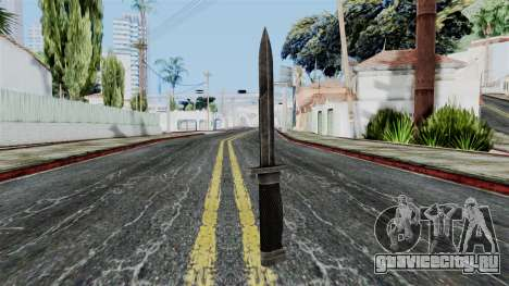 Allied Knife from Battlefield 1942 для GTA San Andreas второй скриншот