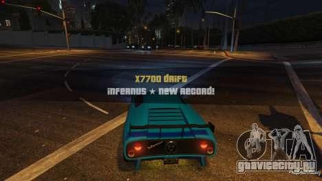 Drift HUD для GTA 5