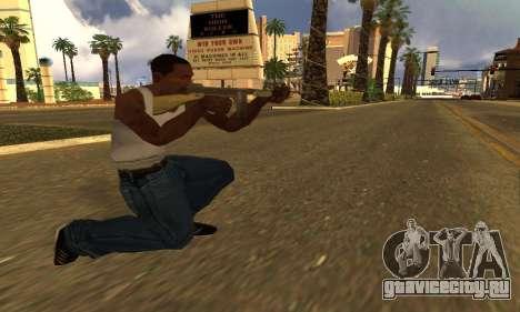 ГТА 5 Gusenberg Метельщик для GTA San Andreas второй скриншот