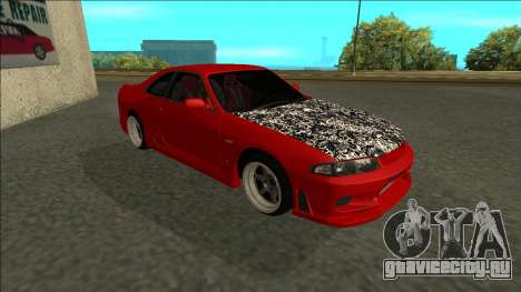Nissan Skyline R33 Fairlady для GTA San Andreas вид слева