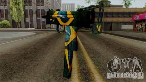 Brasileiro Micro Uzi v2 для GTA San Andreas второй скриншот