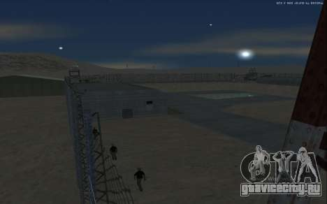 Новая военная база В1.0 для GTA San Andreas двенадцатый скриншот