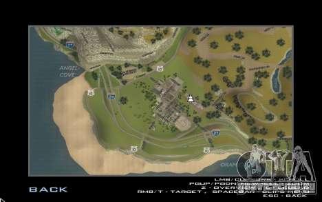 HD карта для Diamondrp для GTA San Andreas третий скриншот