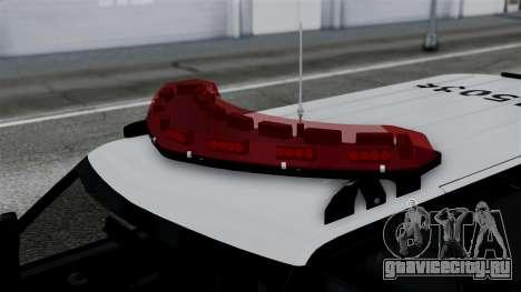 Chevrolet Blazer 2010 для GTA San Andreas вид справа
