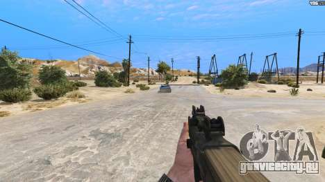 P-90 из Battlefield 4 для GTA 5 четвертый скриншот