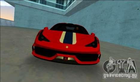 Ferrari 458 Speciale для GTA Vice City