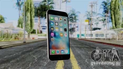 iPhone 6S Space Grey для GTA San Andreas
