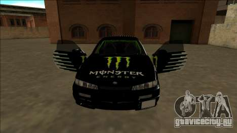 Nissan 200SX Drift Monster Energy Falken для GTA San Andreas колёса