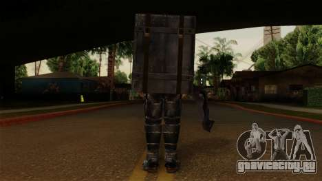 Chris Heavy Metal для GTA San Andreas третий скриншот