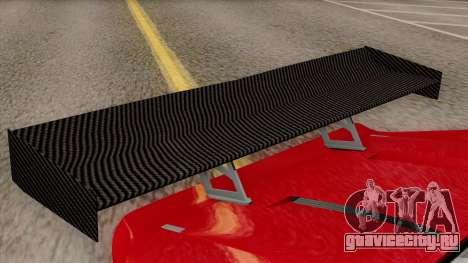 Vapid Bullet GT-GT3 для GTA San Andreas вид сзади