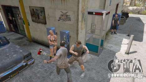 Топор из Dead Rising для GTA 5 второй скриншот