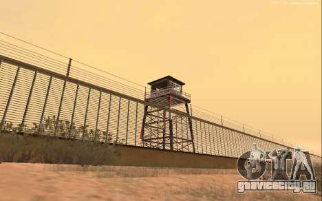 Новая военная база В1.0 для GTA San Andreas третий скриншот