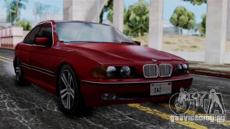 BMW M5 E39 SA Style для GTA San Andreas