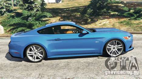 Ford Mustang GT 2015 для GTA 5 вид слева