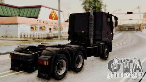 Volvo Truck from ETS 2 для GTA San Andreas вид слева