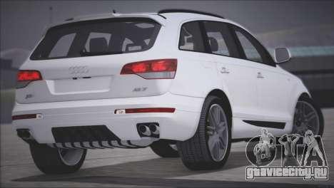 Audi Q7 2008 для GTA San Andreas вид справа