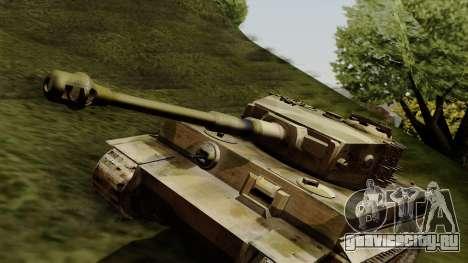 Panzerkampfwagen VI Ausf. E Tiger для GTA San Andreas вид справа