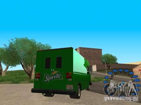 Boxville Sprite для GTA San Andreas вид сзади слева