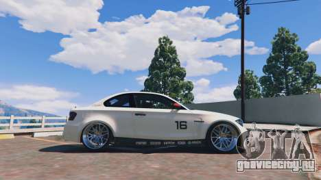 BMW 1M v1.0 для GTA 5 вид слева