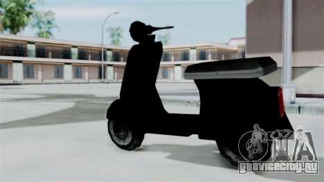 Scooter from Bully для GTA San Andreas вид слева