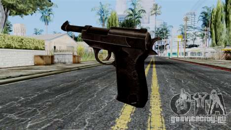 Walther P38 from Battlefield 1942 для GTA San Andreas второй скриншот