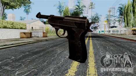 Walther P38 from Battlefield 1942 для GTA San Andreas второй скриншот