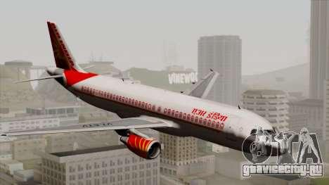 Airbus A320-200 Air India для GTA San Andreas