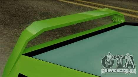 Deluxo from Vice City Stories для GTA San Andreas вид справа
