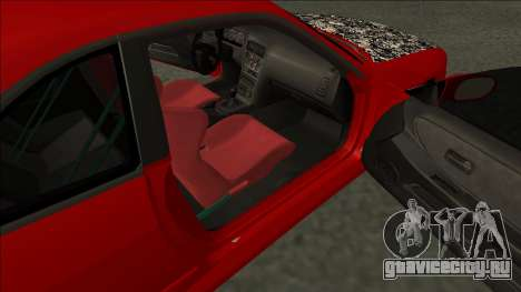 Nissan Skyline R33 Fairlady для GTA San Andreas вид сзади слева