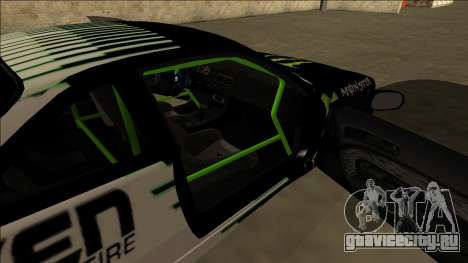 Nissan 200SX Drift Monster Energy Falken для GTA San Andreas вид снизу