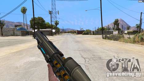 M2014 Gauss Rifle из Crysis 2 для GTA 5 третий скриншот