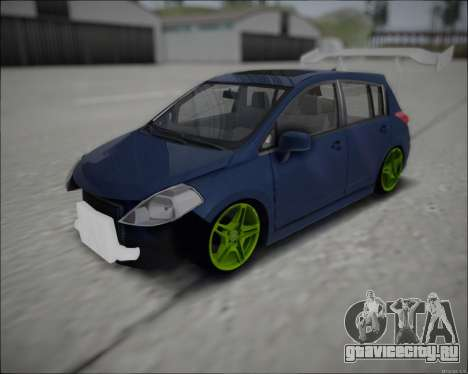 Nissan Tiida Drift Korch для GTA San Andreas