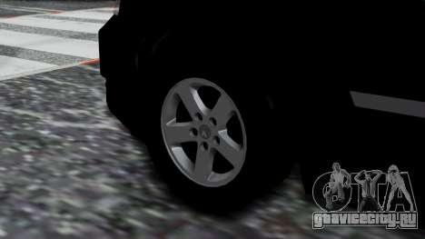 Dodge Grand Caravan 2010 для GTA San Andreas вид сзади слева