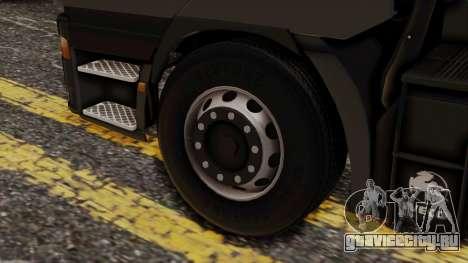 Iveco EuroStar Normal Cab для GTA San Andreas вид сзади слева