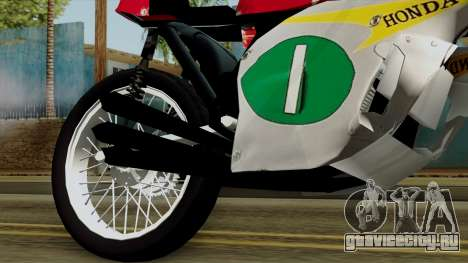 Honda RC166 v2.0 World GP 250 CC для GTA San Andreas вид справа