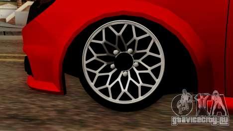 Opel Vectra C для GTA San Andreas вид справа