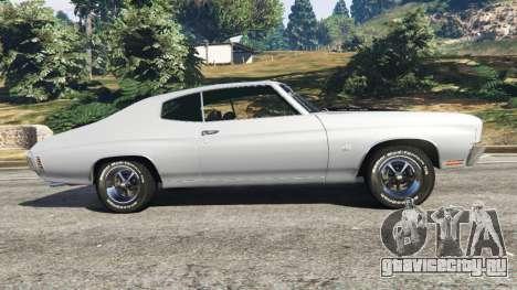 Chevrolet Chevelle SS 1970 v1.0 для GTA 5 вид слева