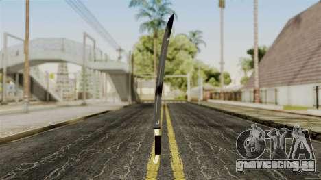 Шашка для GTA San Andreas второй скриншот