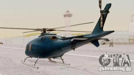 AW-119 Koala для GTA San Andreas вид слева