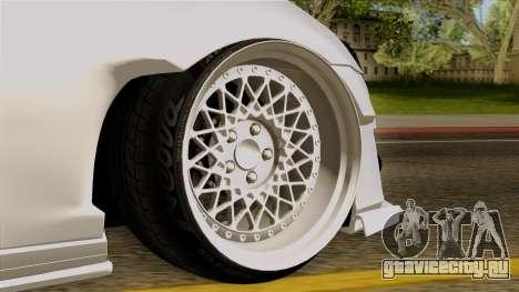 Subaru BRZ 2010 Rocket Bunny v1 для GTA San Andreas вид сзади слева