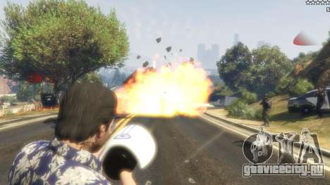 Cinematic Explosion FX 1.12a для GTA 5