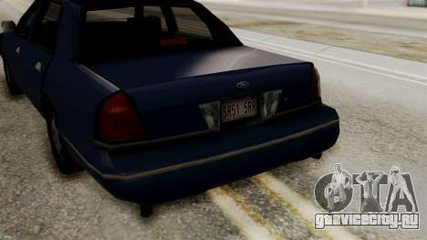 Ford Crown Victoria LP v2 Civil для GTA San Andreas вид справа