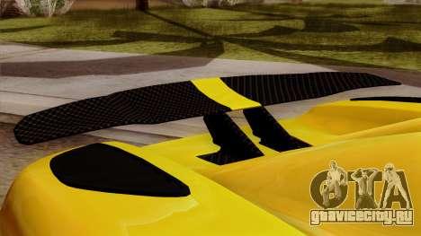Koenigsegg Agera R 2014 для GTA San Andreas вид справа